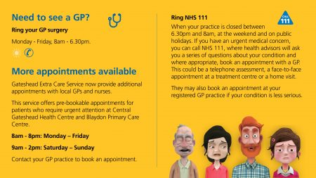 More appointments available with Gateshead Extra Care Services