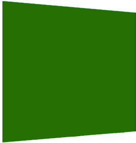 Green shape