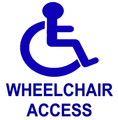 wheelchair access logo